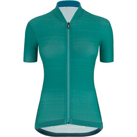 Santini Color Shortsleeve Jersey Women, petrolteal